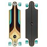 Osprey Osprey Complete Twin Tip Longboard Skateboard, Multicolour, 38 Inch