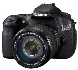 Canon EOS 60D Appareil photo numérique Reflex 18 Mpix Kit Objectif 17-85mm IS Noir