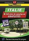 Guide Italie des aires gratuites de camping-car par Michelin