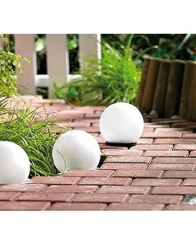 Lunartec lampe solaire en forme de boule avec LED blanc