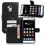 Guran® Housse En Cuir pour ZTE Blade V7 Lite Smartphone Etui Flip Cover Debout Fonction et Fente pour Porte-cartes Cas