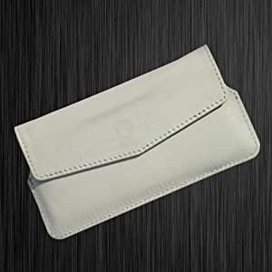 i-KitPit : PU Leather Pouch Case Cover For Huawei Honor 3C (WHITE)