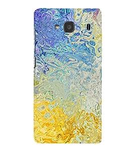 EPICCASE golden painting Mobile Back Case Cover For Mi Redmi 2s (Designer Case)