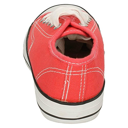 Spot On , Baskets mode pour fille Corail