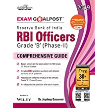 Reserve Bank of India (RBI) Officers Grade 'B' (Phase - II) Exam Goalpost Comprehensive Guide, 2019