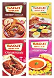 #8: Saoji Spices Egg Curry ,Chicken Curry and Mutton,Patofi Masala, 300 g (Combo of 4)