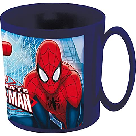 Stor 47304 - Taza para microondas, 36 cl, diseño Ultimate Spiderman