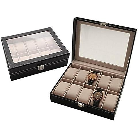 Codinex braccialetto di vigilanza (TM) Superior scatola di velluto regalo di caso di esposizione dei monili 9 agosto