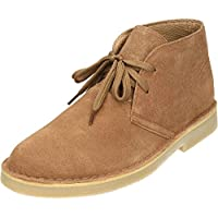 35433275508a Classic Suede Leather Lace Up Desert Boots