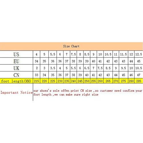 HAIPENG Stivaletti Stivali Da Neve Antiscivolo Impermeabile Traspirante Da Donna 4 Colori ( Colore : Nero , dimensioni : EU37/UK4.5/L:235mm ) Marrone
