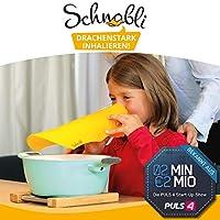 Preisvergleich für Schnabli: der neue Inhalator mit Hörspiel für Kinder! Kinder inhalieren mit einer Schnabel-Maske zu einem abenteuerlichen...