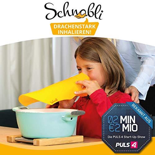 Schnabli - Inhaliergerät für Kinder mit Hörspiel - Inhalieren mit Schnabel-Inhalationsmaske zum abenteuerlichen Hörspiel vom kleinen Drachen Schnabli (Inhalator für Kinder ab 3)