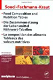 Food Composition Nutrition Tables