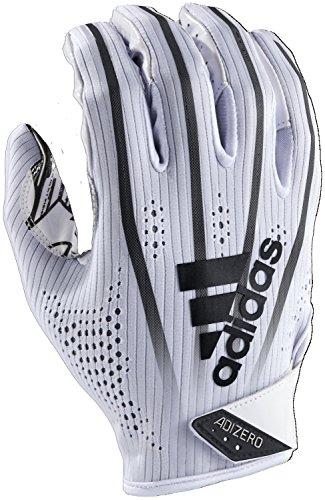 adidas Adizero 5-Star 7.0 American Football Receiver Handschuhe - weiß/schwarz Gr. M