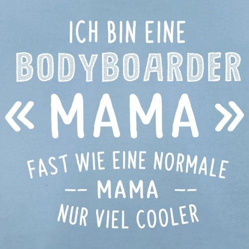 Ich bin eine Bodyboarder Mama - Herren T-Shirt - 13 Farben Himmelblau