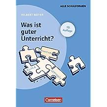 Praxisbuch Meyer: Was ist guter Unterricht?