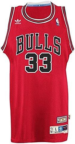Scottie Pippen Chicago Bulls Adidas NBA Throwback Swingman Jersey -