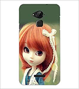 PrintDhaba Cute Doll D-1018 Back Case Cover for COOLPAD NOTE 3 LITE (Multi-Coloured)