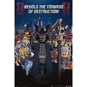 The LEGO Ninjago Movie Poster Garmadon Destruction (61cm x 91,5cm) + Ü-Poster