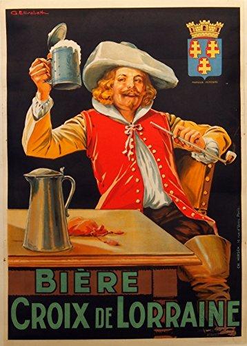 millesime-bieres-vins-et-spiritueux-biere-la-croix-de-lorraine-sur-format-a3-papiers-brillants-de-25