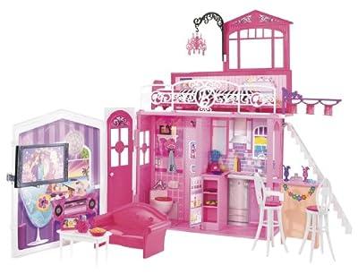 Barbie - Casa de vacaciones Glam de Mattel