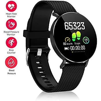 Fitness Tracker, Gearlifee IP68 Waterproof Reloj Pulsera con ...