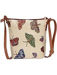 aadc306f73 Amazon.it: farfalle - Borse a tracolla / Donna: Scarpe e borse