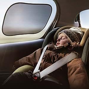 Topop Auto Parasole per Laterale e Posteriore della Finestra per i bambini (3 Pack) 50 x 31cm- Auto Parasole Protector