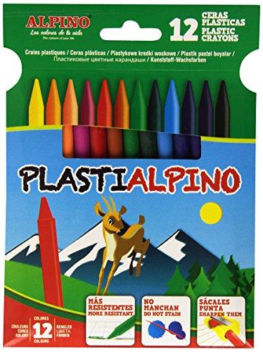 Alpino PA000012 – Estuche con 12 ceras