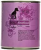 Dogz finefood Hundefutter No.10 Lamm 800 g, 6er Pack (6 x 800 g)