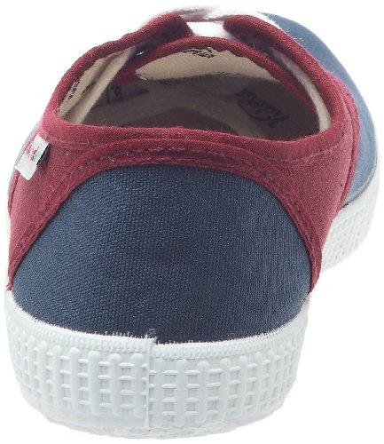 Victoria 6651 Unisex - Erwachsene Sneaker Rojo (Rouge (Burdeos))