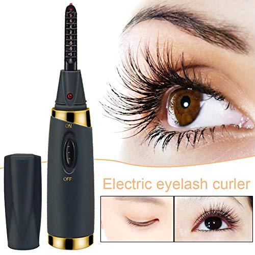 Beheizter Wimpernzange USB-Ladegerät Elektrischer Wimpernzange Beidseitig Schnell erhitzend Wimpernzange Sicherheit Tragbares wiederaufladbares Wimpernzangen-Make-up-Tool -