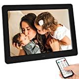 Tenswall 10 Inch Digital Photo Frame Upgraded 1280x800 High...