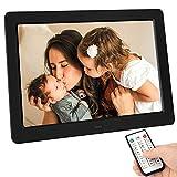Tenswall 10 Inch Digital Photo Frame Upgraded 1280x800 High Resolution Full IPS Display