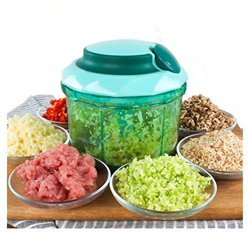 GOOTRADES Manuelle Nahrung Fleischfüllung Gemüse Mixer Schneider Schneidemaschine Ei Rührer