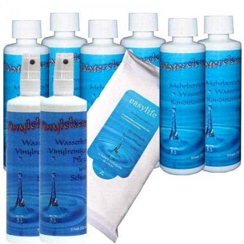 sabuy-kit-dentretien-complet-pour-matelas-a-eau-comprenant-2-flacons-de-conditionneur-waterclean-6-x