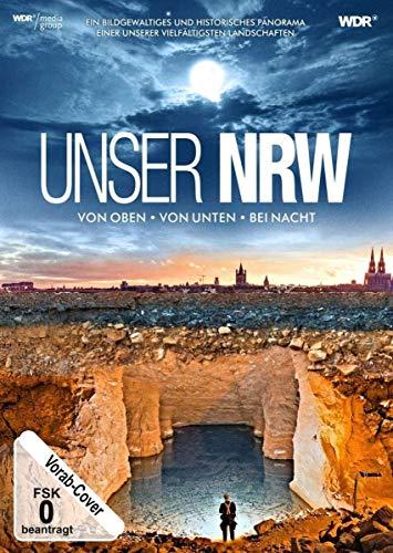 Unser NRW (NRW von oben, von unten und bei Nacht) [2 DVDs]