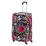 Reisekoffer XL Blumen Rosen Flowers 79x50x30 cm Hartschale Koffer Trolley gepäck Bowatex