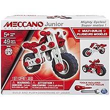 Mecano - Juego de construcción - - 6026957 Super Junior Meccano Motocicletas