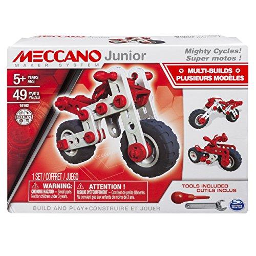 Meccano Mecano - Juego de construcción - - 6026957 Super Junior Motocicletas