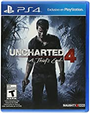 Uncharted 4: A Thief's End by Naughty Dog for PlayStation 4 - NTSC, Regi