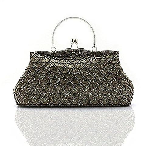 sac à main perlé/Sacs de soirée/ perlé pochette/Ladies ethniques vintage-C