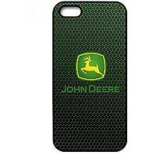 Iphone 5/5s Funda Carcasa Case John Deere Brand Logo Durable Cute TPU Phone Case Cover PpnnOlalab