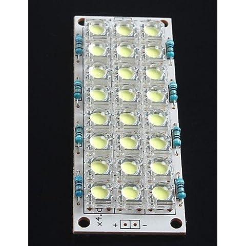 XMQC*12V Super Bright LED Light Board 24 LED lampadina a risparmio di energia della scheda (Notte Bagno Luce Decor)