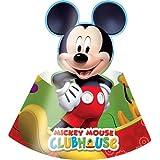 Amscan Playful - Sombreros (accesorio para fiestas), diseño de Mickey Mouse