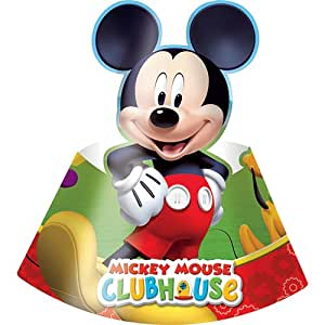 Amscan Playful Mickey Hats Party Accessory