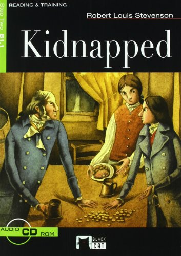 Kidnapped, educación secundaria. Material auxiliar por Cideb Editrice, The Black Cat Publishing