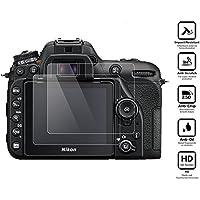 BlueBeach® Paquet de 2 Protection d'écran Protecteur en verre trempé pour Nikon D7500 DSLR (0.3mm 2.5D 9H Dureté)
