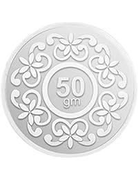 IBJA Gold 50 Gm, (999) Silver Precious Coin