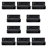 10x MAG 322w1 Original Infomir & HB-DIGITAL IPTV Set TOP Box mit WLAN (WiFi) integriert bis zu (802.11 b/g/n) Multimedia Player Internet TV IP Receiver (HEVC H.256) + HB Digital HDMI Kabel